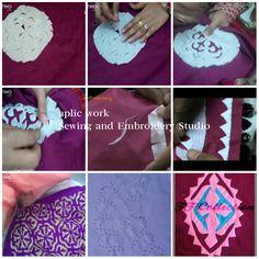 Applique Quilts, Embroidery Applique, Sindhi Dress, Kutch Work, Reverse Applique, Caftan Dress, Ribbon Work, Cutwork, Applique Designs