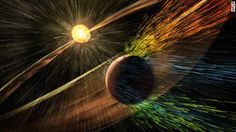 Researchers at the California Institute of Technology have found evidence in the outer solar system of an object that could be a real ninth planet. it weighs 10 times more than Earth, and orbits 20 times father from the sun. One full orbit for this planet would take 20,000 years.