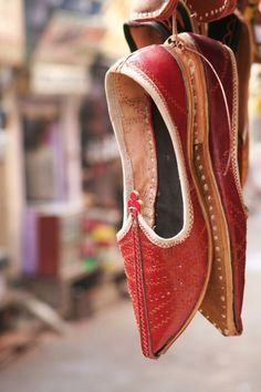 Handmade leather footwear | Bundi | India