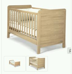 #Mamas and #papas #rialto light oak bedroom cot bed cotbed,  View more on the LINK: http://www.zeppy.io/product/gb/2/351649161753/