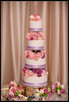 Wedding Planners - Eventrics l Wedding Event Design - Event Source Solutions l Venue - Isleworth Golf & Country Club l Fireworks at end of wedding celebration. www.eventricswedd...  1Love this cake! So chic - Isleworth bakery.