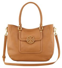 8a159526770e Tory Burch Amanda  get Off Use Code Gift25  Classic Satchel W Gift Receipt  Royal Tan Pebbled Leather Hobo Bag 38% off retail