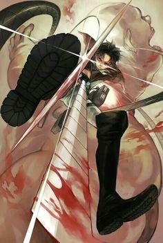 Attack on titan: Captain Levi!!!!!!