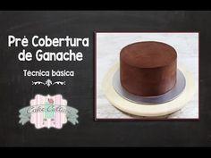 """Tecnica comum. Pré cobertura de ganache / Como """"ganachar"""" um bolo . - YouTube"""