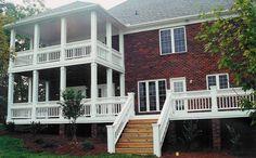 Charlotte Porch 4 - Charleston style double porch