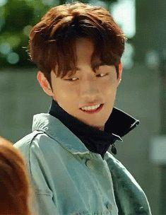 Nam Joo Hyuk in Weightlifting Fairy Kim Bok Joo Nam Joo Hyuk Smile, Nam Joo Hyuk Tumblr, Nam Joo Hyuk Cute, Nam Joo Hyuk Lee Sung Kyung, Jong Hyuk, Asian Actors, Korean Actors, Korean Drama, Drama Korea