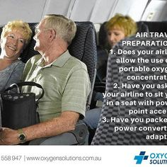 If you are planning a holiday, here's what you'll need to ask yourself to prepare yourself if you are on oxygen therapy.