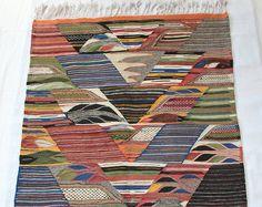 Berber Carpet, Moroccan Rug, Kilim Rugs, Bohemian Rugs, Boho Rugs, Multi-Colored Rug, Wool Rug, Tribal Rug, Kilim, Geometric Rugs, Morrocan Rug, Zanafi