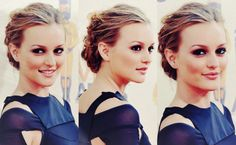 Leighton's hair is gorgeous in this picture.