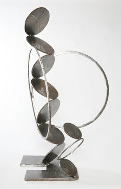 Metal sculpture - mother and son Alex D'Ambrosio