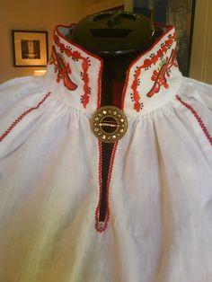 FolkCostume: Costume and Rosemaling Embroidery of West Telemark, Norway Folk Costume, Costume Dress, Traditional Dresses, Traditional Art, Norway Design, Norwegian House, European Costumes, Norwegian Rosemaling, Russian Folk Art