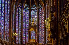 Saint Chapelle, Paris, France