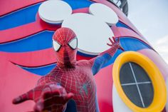 Marvel Day at Sea on Disney Cruise Line  I know a few super boys who would love this super adventure! And a sometimes sassy girl too. How about you? Contact me to get more information about one of these adventures for your little heroes and villians. https://www.3dtravelcompany.com/quote-request 865-399-2589  sarah.struck@3dtravelcompany.com #3dfallintotravel