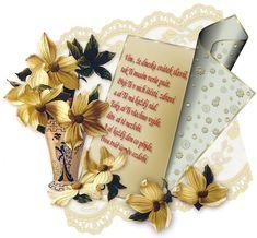 Přáníčko k svátku s říkankou | Tvoření Blog, Blogging