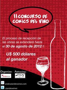 Concurso de Comics del Vino / Wine Comic Competition