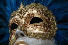 Máscara venecia, gala victoriana, artesanal, victorian venetian mask.