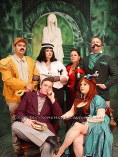 Coolest Clue Characters Group Halloween Costume ...This website is the Pinterest of costumes