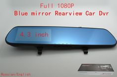 Find More Car DVRs Information about Full HD 1080P H.264 Car Rearview Blue Mirror Parking Back Up DVR CAMERA  AS  Car DVR IR Night Vision G SENSOR Car Black Box H258,High Quality box pinhole camera,China camera cellphone Suppliers, Cheap box processor from HongKong Adeals Auto Technology Co. Ltd  on Aliexpress.com
