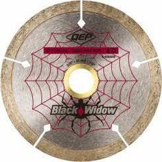 "QEP 6-4008BW 4"""" Black Widow Diamond Circular Saw Blade"