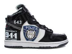 brand new 62ea9 a7f52 Police Sucka Cool High Tops, Nike High Tops, Cartoon Shoes, Air Jordan 9