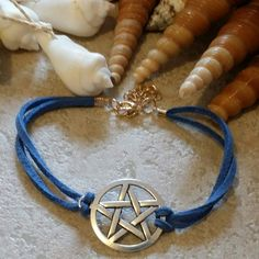"Pentacle Bracelet $5  To place an order, visit our Facebook page ""Moonsong Jewellery"" or email moonsongjewellery@gmail.com"