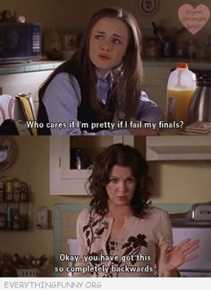 gilmore girls! I remember this. Hearted me some Lorelai FuNNiES