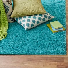 Alexis Area Rug in Turquoise