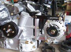 74-92 Side Mount Alternator Kit (ARM-34)
