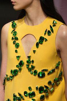 Like gossip, I prefer my fashion with a little embellishment. -LSD