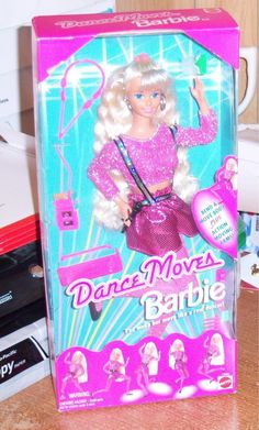 Barbie Doll Dance Moves Collectible 1994 Mattel Mint In Box Never Removed