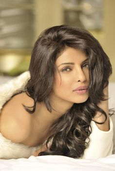 Priyanka Chopra, rising movie/singing star from India, former Miss World.