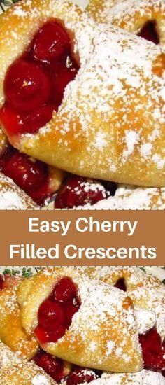Crescent Roll Dough, Crescent Roll Recipes, Crescent Rolls, Quick Recipes, Cake Recipes, Dessert Recipes, Desserts, Crescents, Dough Recipe
