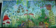 Enchanted Forest - Johanna Basford - Inspiration