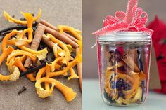 This homemade Christmas potpourri is made for heating on the stovetop with water, so the fragrance permeates throughout the house as the potpourri simmers. Christmas Gifts To Make, Homemade Christmas, All Things Christmas, Christmas Crafts, Christmas Ideas, Xmas, Homemade Potpourri, Potpourri Recipes, Homemade Spices