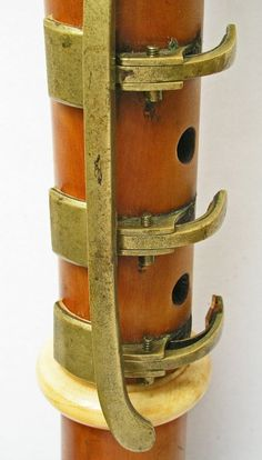 Clarinet B♭ - keywork detail - (J. Grenser, 1807-1817)