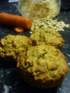 Low Fodmaps recipe for Oat and Carrot Muffins - great for people with Irritable Bowel Syndrome or sensitive digestion.