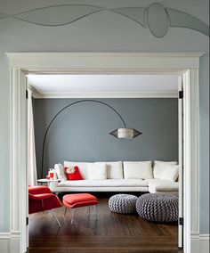 simplicity & grey walls = i heart