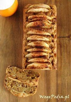 Wegańskie ciasto zjabłkami - przepis bezcukru
