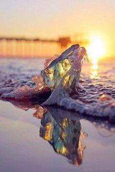 53 amazing sunset pictures- 53 erstaunliche Sonnenuntergang Bilder cool photo of wave - Ocean Beach, Ocean Waves, Beach Sunsets, Ocean Sunset, Ocean Art, Pretty Pictures, Cool Photos, Amazing Pictures, Amazing Photography