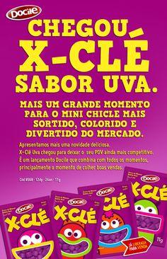 ECONUTRI Produtos Naturais: X-CLÉ UVA - Lançamento Docile