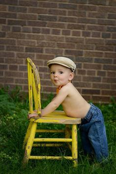 9 month old picture. Amanda Thompson photography