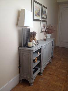 mueble pintado provenzal