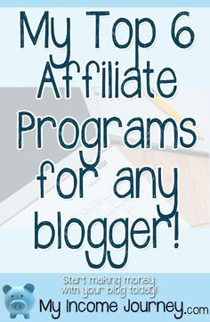 If you are a blogger and have not yet monetized your blog or become an affiliate yet, I'm glad you're here. These affiliate programs work for bloggers of all genres and I'll highlight why I work with each of them…