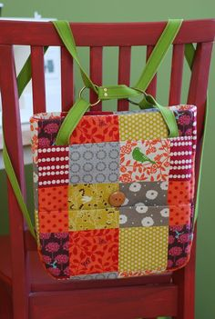 A day in the park backpack tote, soon to be sewn by me.