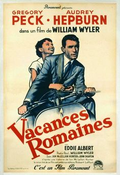 "French ""Roman Holiday"" Poster"