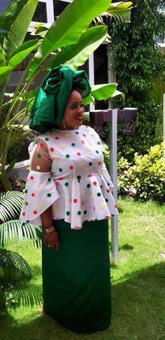 African Print Fashion, Africa Fashion, Tribal Fashion, African Fashion Dresses, Fashion Outfits, African Tops, African Wear, African Dress, African Print Dress Designs