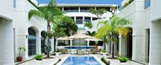 The Savannah Resort All Inclusive Barbados- this gorgeous courtyard would be a great spot for some honeymoon photos!