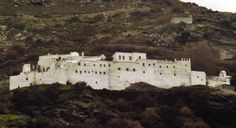 The famous Byzantine monastery of Panachrantou!