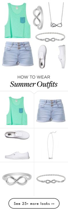 """""""Casual Summer Outfit"""" by vidhip348 on Polyvore"""