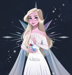 I really loved Frozen I was so excited to discover this new movie and honestly I am delighted. Graphically everything was perfect, Anna… Disney Princess Drawings, Disney Princess Art, Disney Fan Art, Disney Drawings, Drawing Disney, Olaf Drawing, Frozen Art, Disney Frozen Elsa, Frozen Love